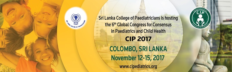 6th Global Congress for Consensus in Paediatrics and Child Health, Sri Lanka